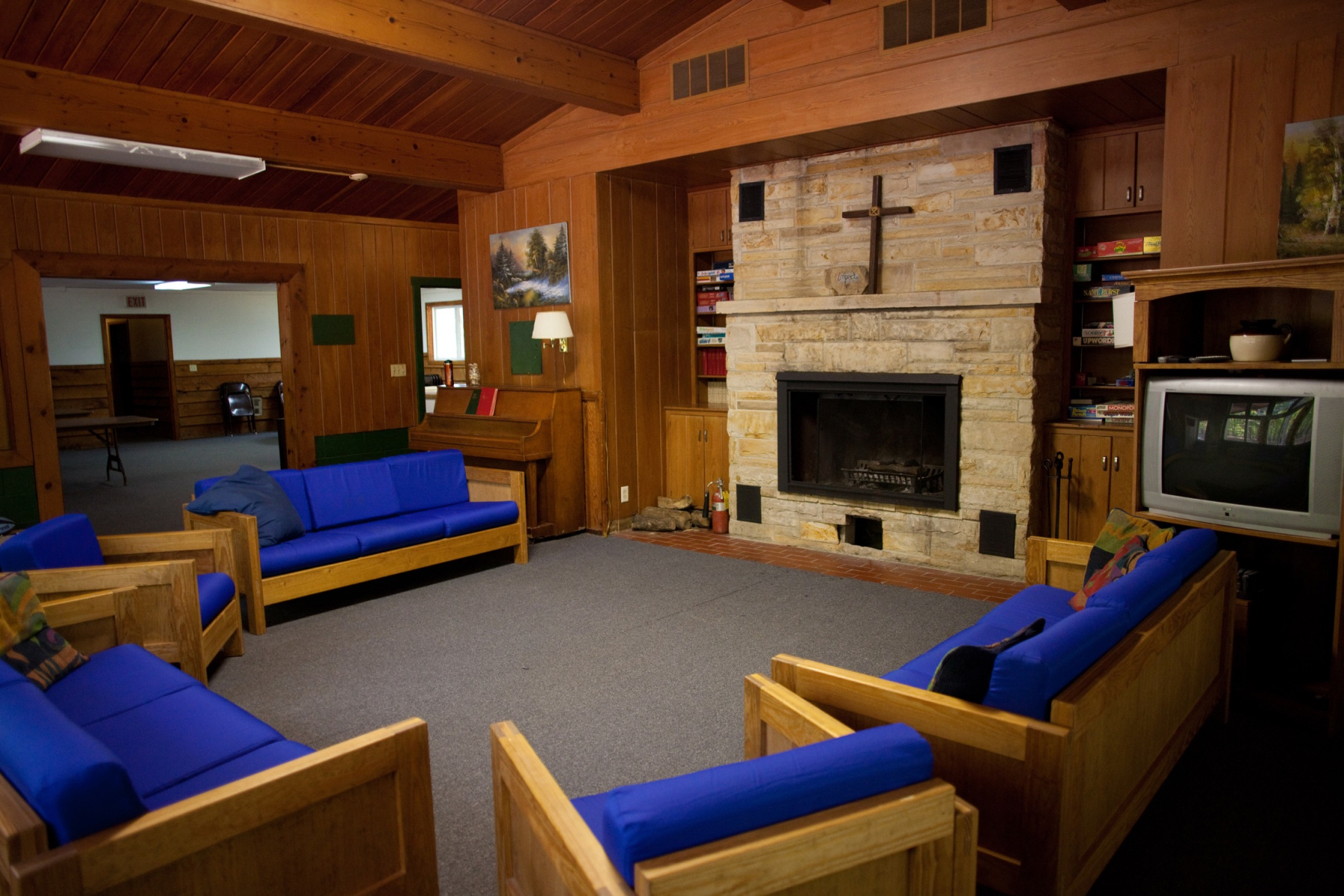 Retreat Center Living Room
